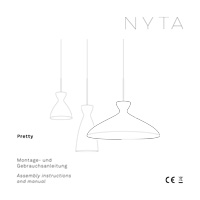 Nyta Pretty small Assembly instructions and manual