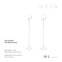 Nyta Tilt S Floor Assembly instructions and manual